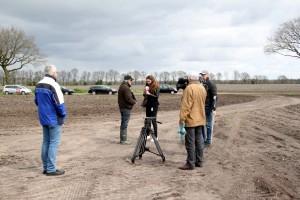 2017-04-15 IMG 9028 reportage RTV Drenthe bij Paasbult Den Hool